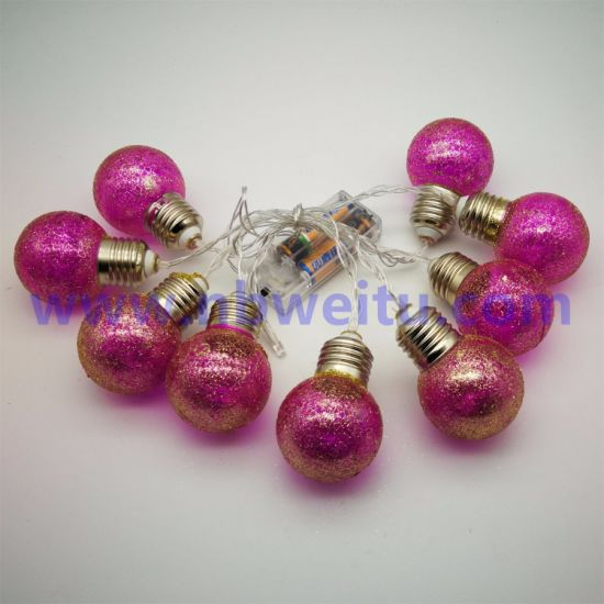 China Supplier Party Decoration LED Bulb String Light