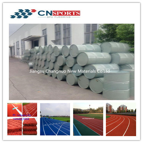 Two Component PU Binder for Synthetic PU Running Track