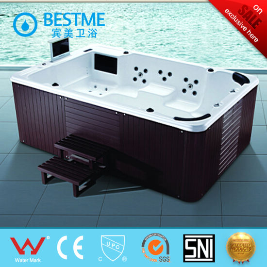 Sanitary Ware Powerful Outdoor SPA Jacuzzi Pool For Adults (BT 1802)