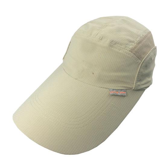 8cc1e6f97e2d6 Custom Simple White Mesh Cap Blank Five Panel Hats - China Hat, Cap ...