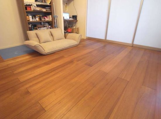 Hot Item Natural Oiled Burma Teak Wood Floor