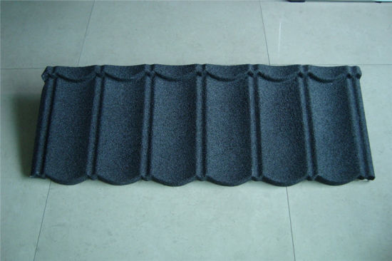 Classic Stone Coated Steel Tile Economical Metal Roofing Tile pictures & photos