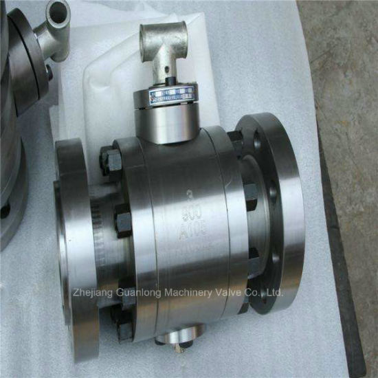 High Pressure Forged Trunnion Ball Valve (Q47) pictures & photos