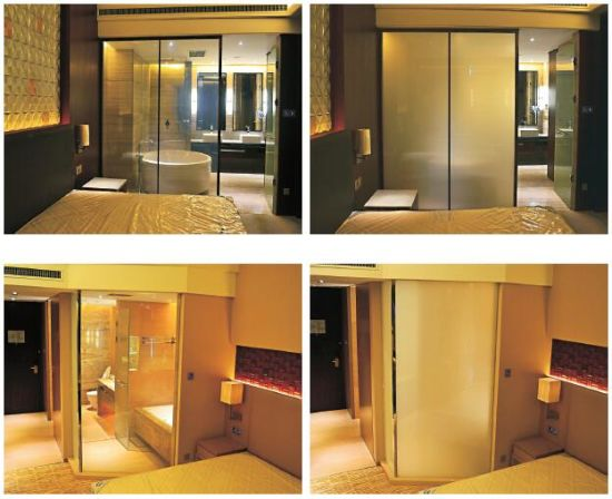 White Color Switchable Pdlc Smart Glass Film Prices for Building Glass