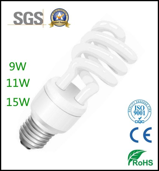 Factory Price Ce RoHS Approval Full Spiral Energy Saving Lamp