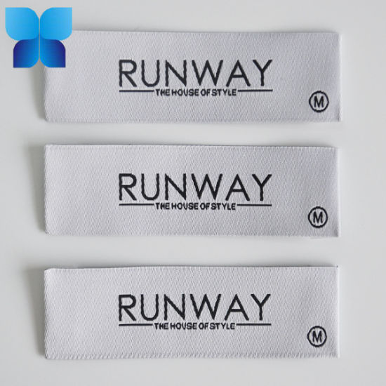 2019 Hot Sell Washable Woven Neck Label for Garment