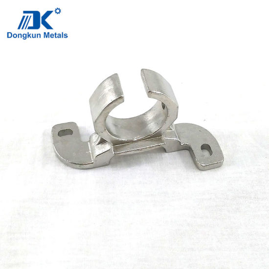 Stainless Steel Tube Support by Lost Wax Casting