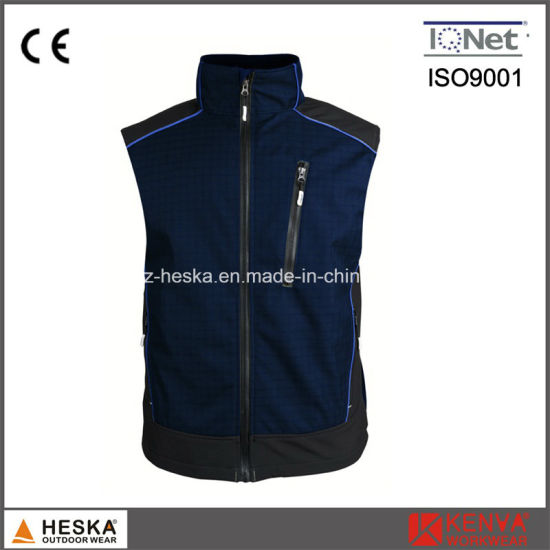 Casual Gym Mens Softshell Ripstop Vest pictures & photos