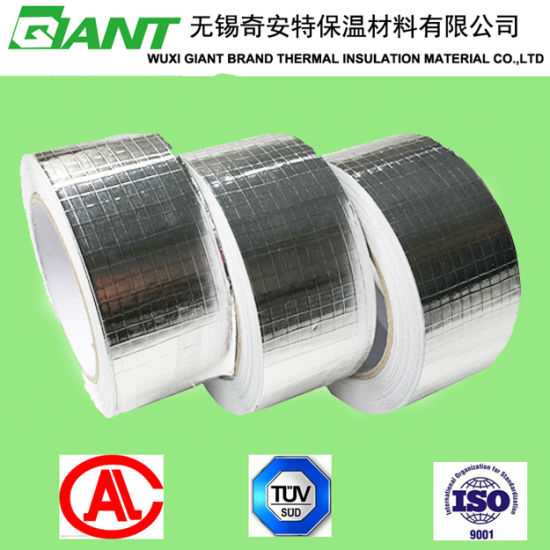 Hot Sale Roofing Aluminum Foil Tapewith Glassfiber Mesh Tape