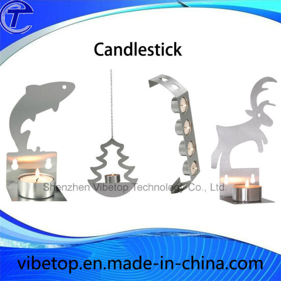 Hot Selling Using Guest Room Stainless Steel Candle Holders pictures & photos