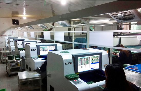 SMT Aoi Automatic Testing Machine for PCB Production Line
