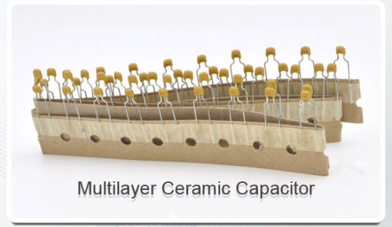 50V 100V Radial Type Multilayer Ceramic Capacitor Tmcc03 pictures & photos
