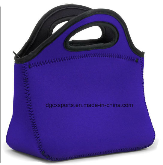Fashion Neoprene Lunch Bag with Handle/Cooler Bag pictures & photos