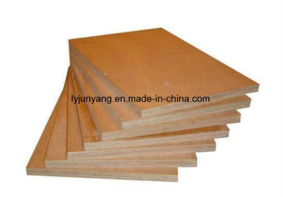 2mm - 18mm Okoume Bintangor Birch Pine Furniture Grade Commercial Plywood