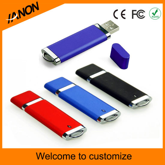 Hot Selling USB Flash Drive Plastic USB Stick with Mixed Colors pictures & photos