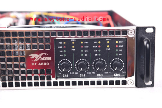 Df4800 4channel Power Mixer Amplifier pictures & photos