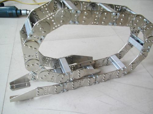 High Strength Stainless Steel 304 Cable Drag Chain Hose Carrier Cable Energy Chain