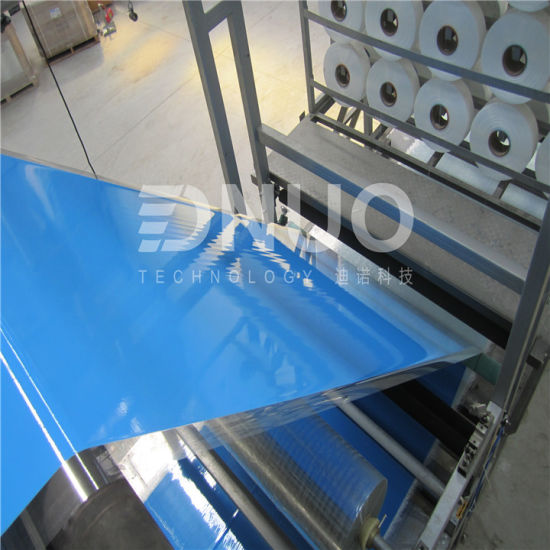 FRP Colour Coated Roofing Sheet Making Machine Exported