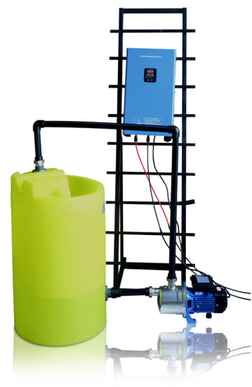 Solar Hybrid Water Submersible Pump Inverter System for 2.2kw AC 3 Phase Pump Motor pictures & photos