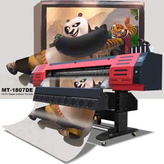 Inkjet Digital Flex Printing Machine with Dx5 Printhead, Large Format, Photoprint Rip