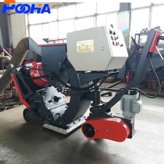 Phlm550 Concrete Floor Road Surface Shot Blasting Machine