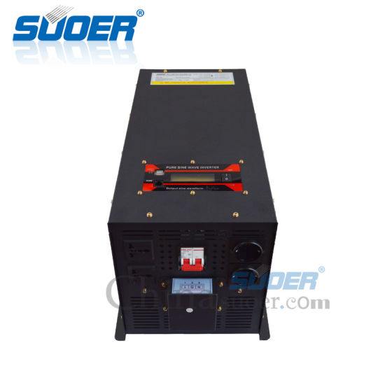 Suoer DC 24V to AC 220V Sinusoidal Pure Sine Wave Solar Power Inverter (FPC-D5000B) pictures & photos