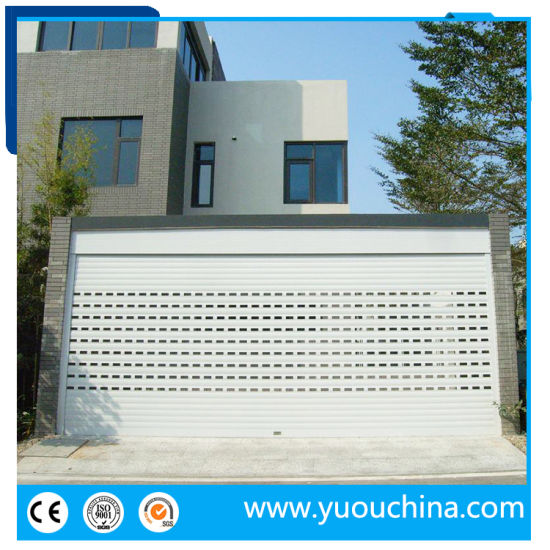 Remote Control Aluminum Alloy Roller Garage Door