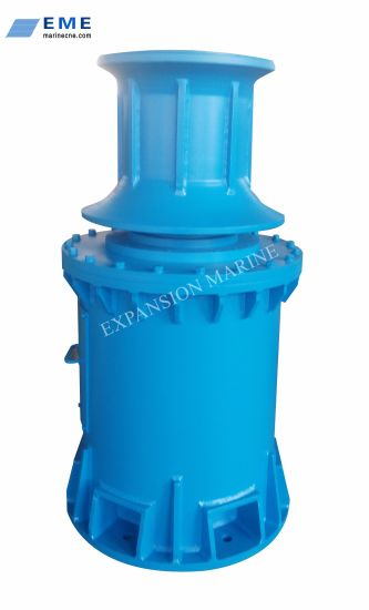 Marine Electric Hydraulic Vertical or Horizontal Mooring Capstan