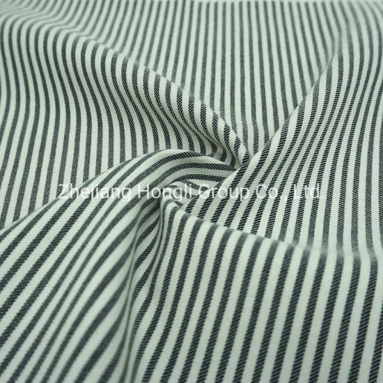 250GSM Faille Stripe 73%Rayon 23%Nylon 4%Spandex Yarn Dyed Fabric pictures & photos