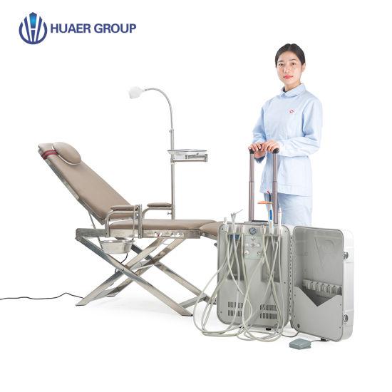 Dental Supply Electricit Power Source Dental Chair Unit Dental Chair Type Portable Dental Chair