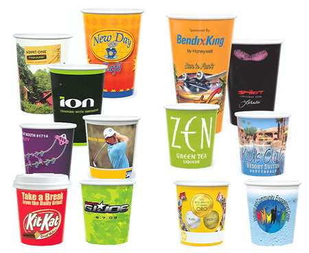 Cold Paper Cups with Various Printing pictures & photos