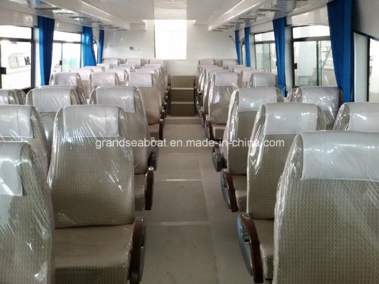 50seats Outboard Engine Passenger Ferry Crew Boat pictures & photos