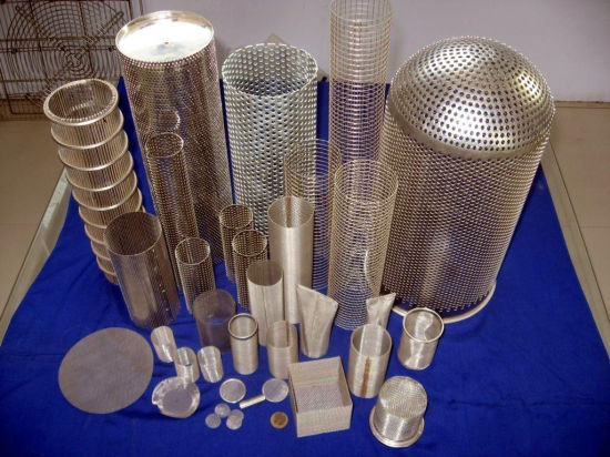 Perforated Stainless Steel Wire Mesh Disc Filter /Perforated Sheet Filter Mesh (XM1-42) pictures & photos