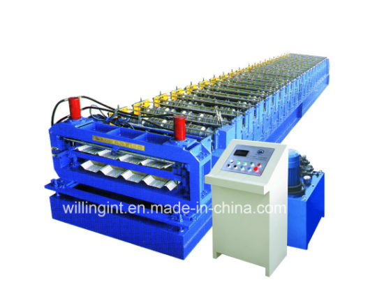 High Working Speed Double Layer Two Type Roll Forming Machine pictures & photos