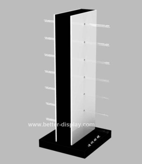 Rotating Acrylic Sunglasses Display Stand Btr-E1020