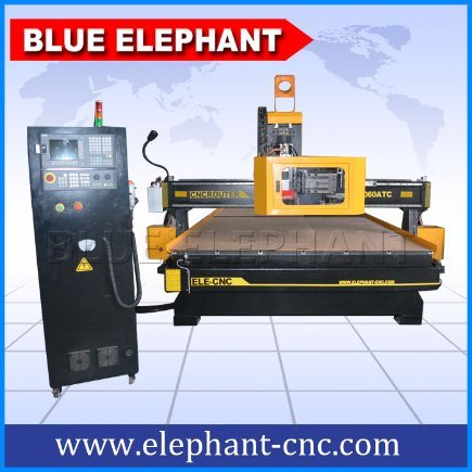 Ele2060 Carousel Tool Changer Router CNC Machine with Atc Air Cooling Spindle pictures & photos