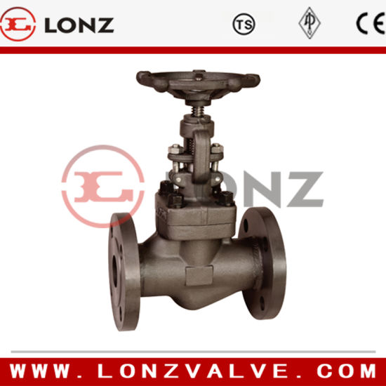 Forged Steel A105n Globe Valve (J31H) pictures & photos