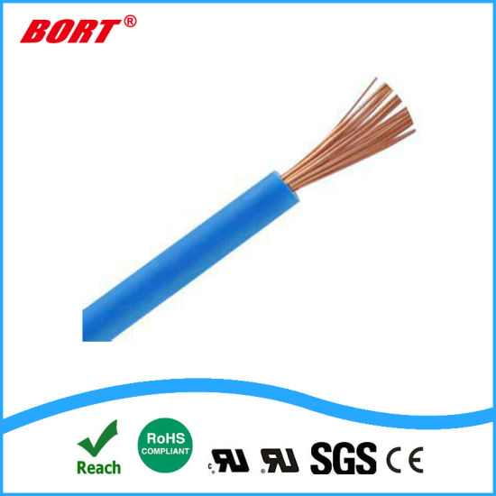 UL, Wire, Solid or Stranded, Electrical Single Core Wire with Solid Copper Conductor PVC XLPE Insulated
