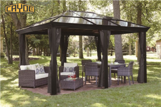 Courtyard Leisure Mouldproof Metal Roof Pergola Outdoor - China Courtyard Leisure Mouldproof Metal Roof Pergola Outdoor