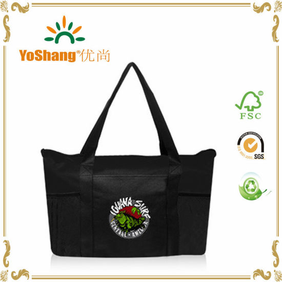 New Design Non Woven Shopping Bag/PP Non Woven Zipper Bag/Nonwoven Tote Bag pictures & photos