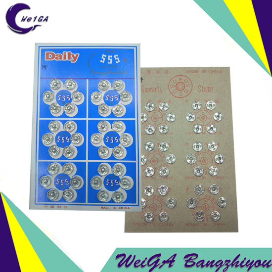 High Quality (hand sewing needle) Buttons 8mm pictures & photos