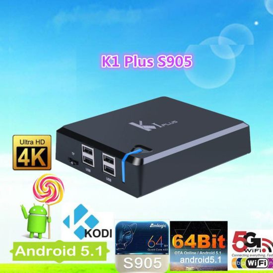 K1 Plus Amlogic S905 TV Box Quad Core