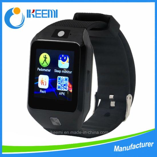 Silicone/Fashion Dz09s Digital/Wrist Ladies/Women's Bluetooth Phone Smart Sports Watch