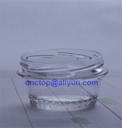 80ml Shaped Food Jar Glass Bottle Custom Shape pictures & photos
