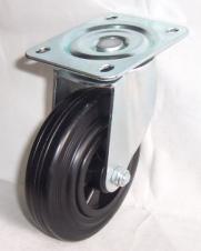 European Type Rubber Caster Wheel