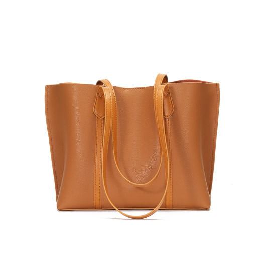 2020 New Fashion Genuine Leather Ladies Tote Handbag