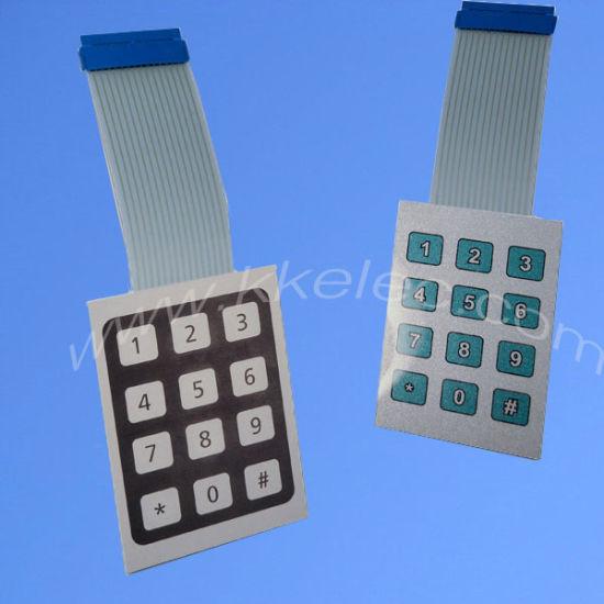 3m467/468 Adhesive Keyboard Membrane Switch Panels