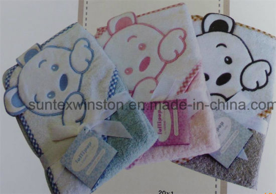 Muslin Hooded Towel pictures & photos