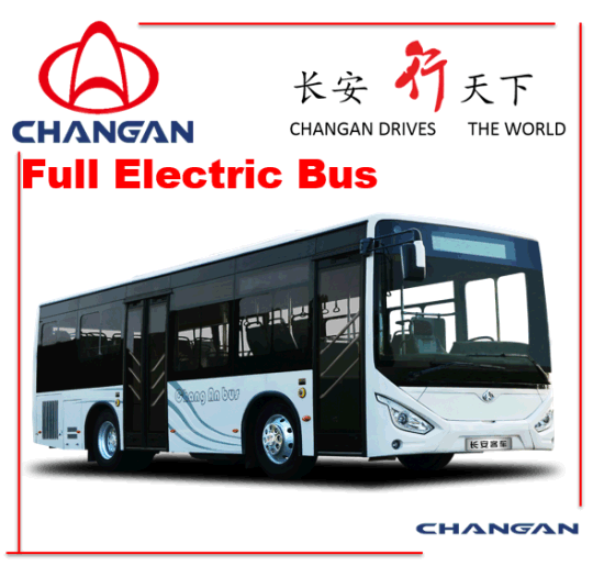 Chanagn Bus Electric City Bus pictures & photos