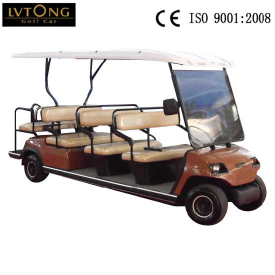 Wholesale Cheap 11 Seater Electric Sightseeing Car pictures & photos